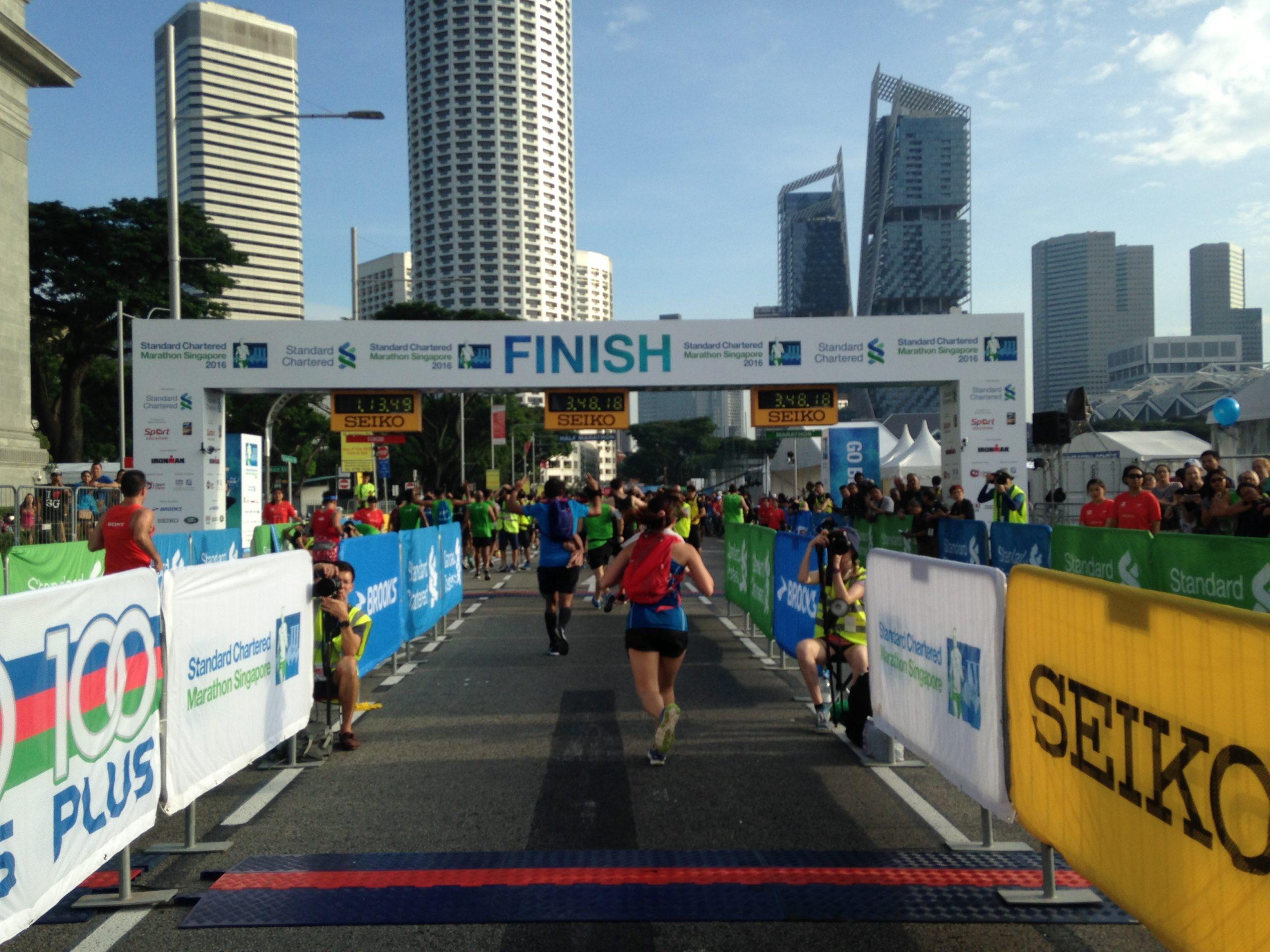 Singapore Marathon Goal