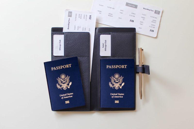 二人用パスポートケース futari passport