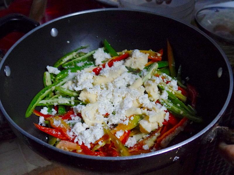 ブータン料理チリチーズ