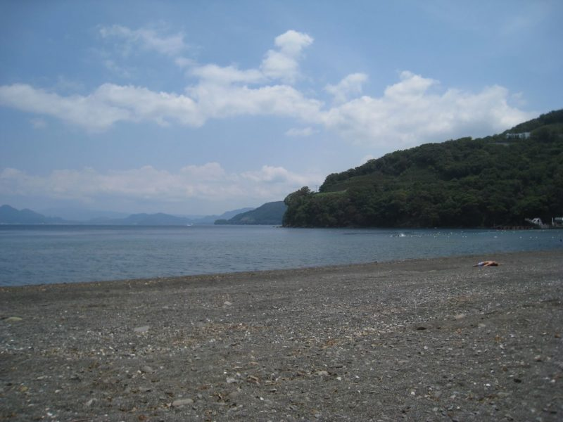 静岡県西伊豆のビーチ