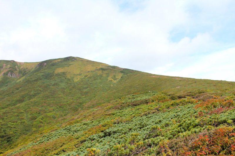 栗駒山中央コースの景色
