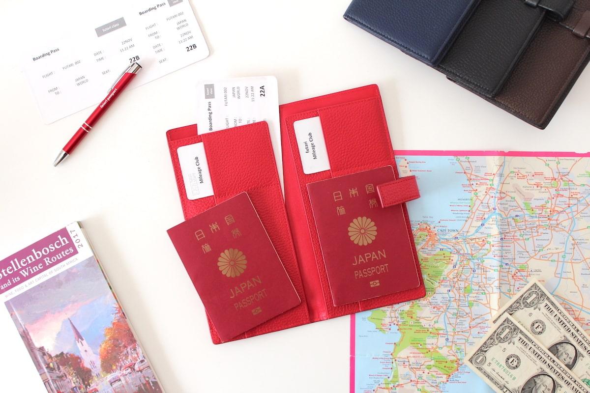 futari styleによる、二人用パスポートケース「futari passport(フタリパスポート)」
