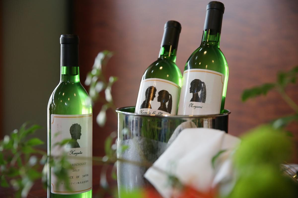 ふたりで作った世界ひとつだけのオリジナルワイン